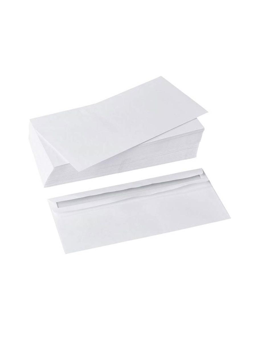 NEW! конверт без окна самоклей 100шт (lidl 3€)